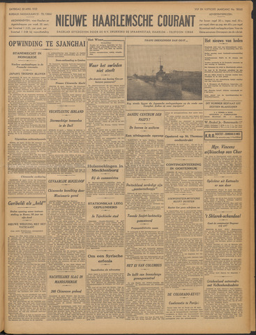 Nieuwe Haarlemsche Courant 1932-04-30