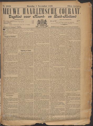 Nieuwe Haarlemsche Courant 1897-11-01