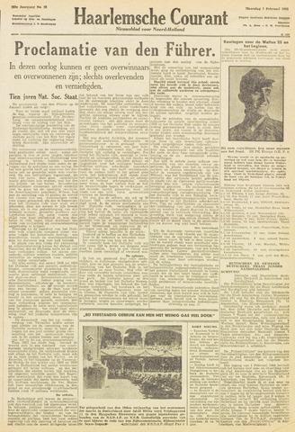 Haarlemsche Courant 1943-02-01