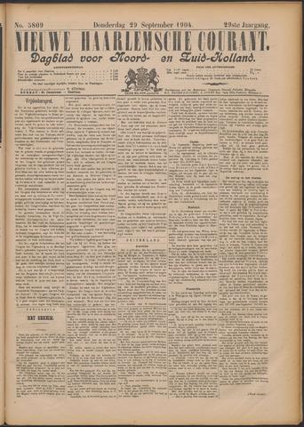 Nieuwe Haarlemsche Courant 1904-09-29