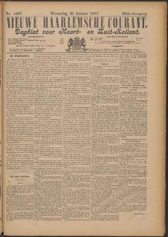 Nieuwe Haarlemsche Courant 1905-01-25