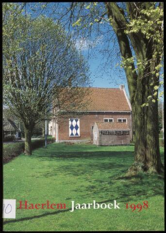 Jaarverslagen en Jaarboeken Vereniging Haerlem 1998
