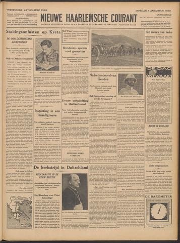 Nieuwe Haarlemsche Courant 1935-08-06