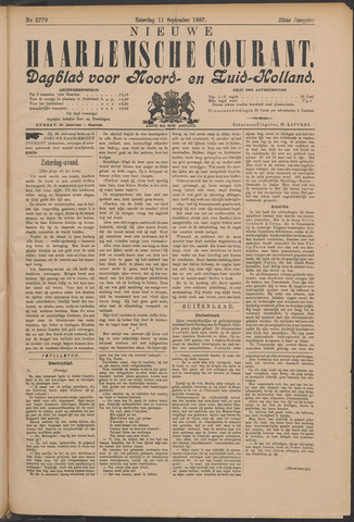 Nieuwe Haarlemsche Courant 1897-09-11