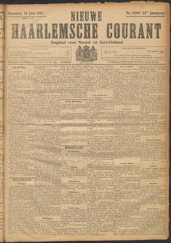 Nieuwe Haarlemsche Courant 1907-06-10