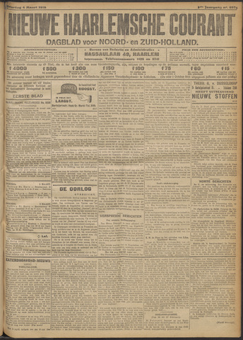 Nieuwe Haarlemsche Courant 1916-03-04