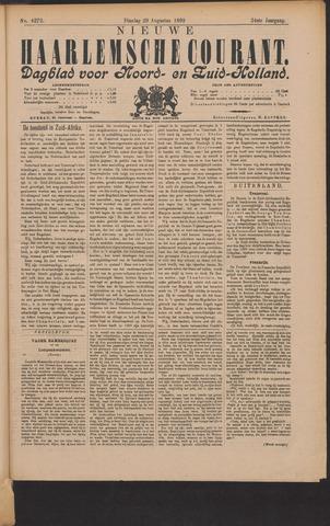Nieuwe Haarlemsche Courant 1899-08-29