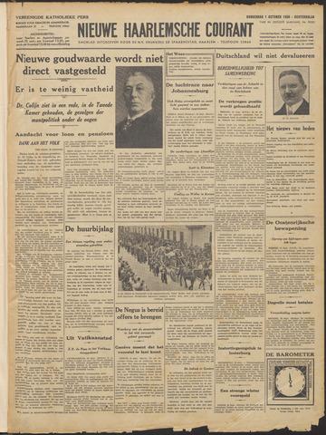 Nieuwe Haarlemsche Courant 1936-10-01