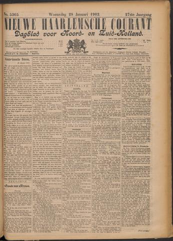 Nieuwe Haarlemsche Courant 1903-01-28