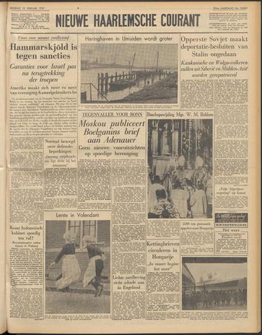 Nieuwe Haarlemsche Courant 1957-02-12