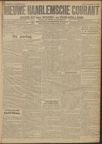 Nieuwe Haarlemsche Courant 1914-12-09
