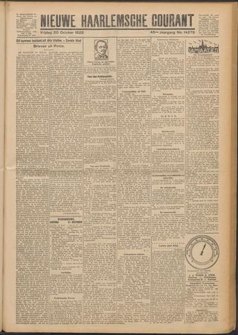 Nieuwe Haarlemsche Courant 1922-10-20
