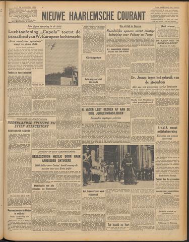 Nieuwe Haarlemsche Courant 1950-08-28