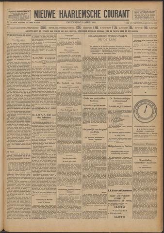Nieuwe Haarlemsche Courant 1931-04-09