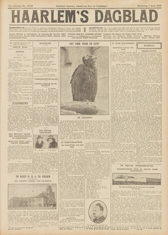 Haarlem's Dagblad 1926-04-07