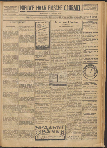 Nieuwe Haarlemsche Courant 1928-01-21