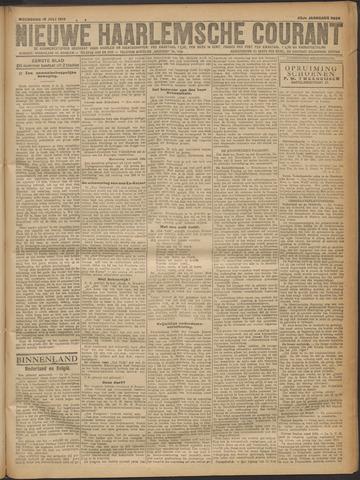 Nieuwe Haarlemsche Courant 1919-07-16