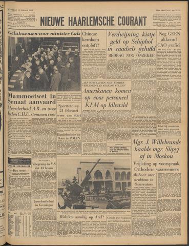 Nieuwe Haarlemsche Courant 1963-02-13