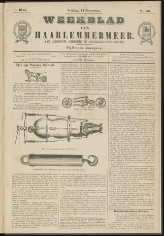 Weekblad van Haarlemmermeer 1874-12-11