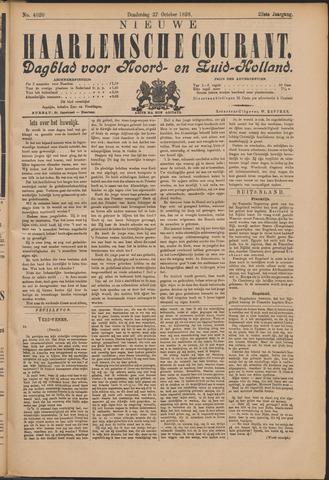 Nieuwe Haarlemsche Courant 1898-10-27