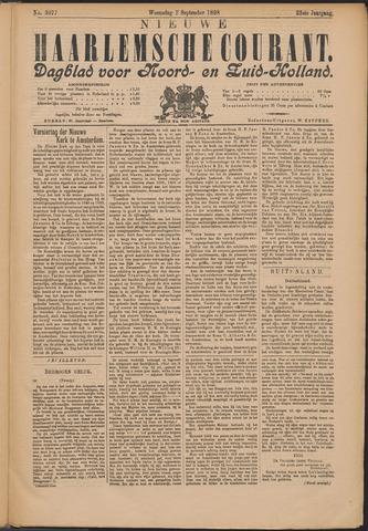 Nieuwe Haarlemsche Courant 1898-09-07