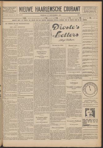 Nieuwe Haarlemsche Courant 1931-11-27