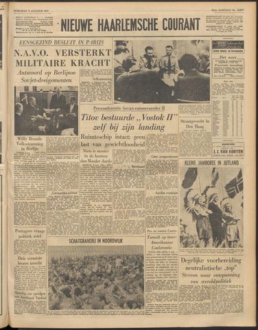 Nieuwe Haarlemsche Courant 1961-08-09