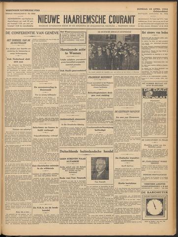 Nieuwe Haarlemsche Courant 1934-04-15
