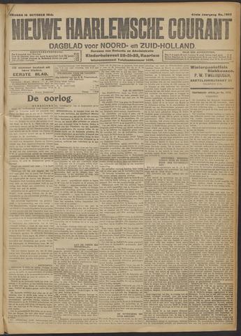 Nieuwe Haarlemsche Courant 1914-10-16