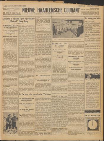 Nieuwe Haarlemsche Courant 1935-02-01