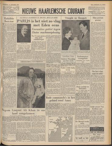 Nieuwe Haarlemsche Courant 1954-09-16