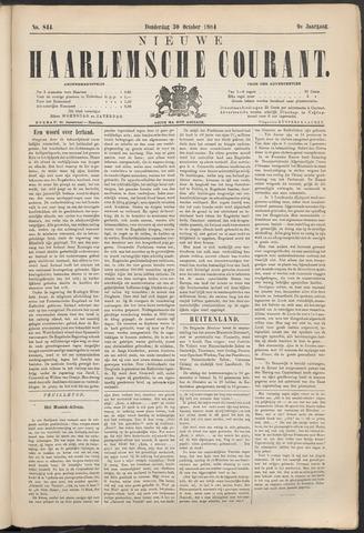 Nieuwe Haarlemsche Courant 1884-10-30