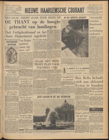 Nieuwe Haarlemsche Courant 1962-08-11