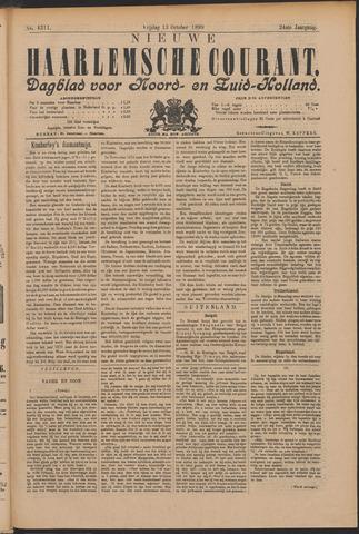 Nieuwe Haarlemsche Courant 1899-10-13