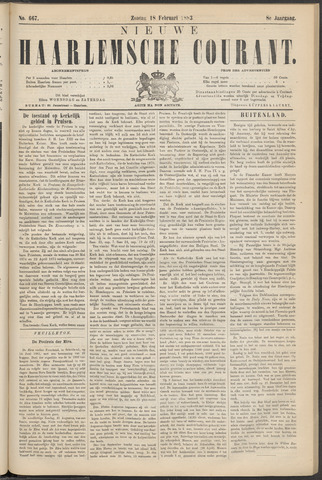 Nieuwe Haarlemsche Courant 1883-02-18