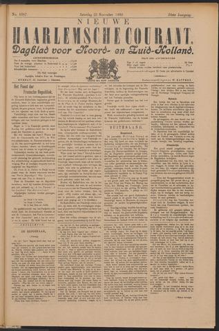 Nieuwe Haarlemsche Courant 1899-11-25