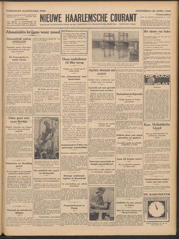 Nieuwe Haarlemsche Courant 1936-04-23