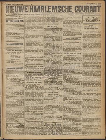 Nieuwe Haarlemsche Courant 1919-09-08