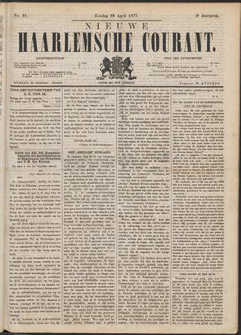 Nieuwe Haarlemsche Courant 1877-04-29