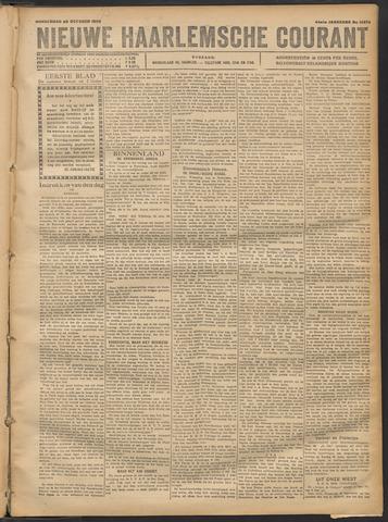Nieuwe Haarlemsche Courant 1920-10-28