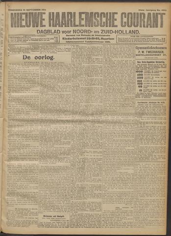 Nieuwe Haarlemsche Courant 1914-09-10