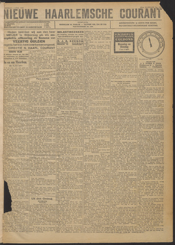 Nieuwe Haarlemsche Courant 1922-04-01