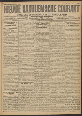 Nieuwe Haarlemsche Courant 1914-12-22