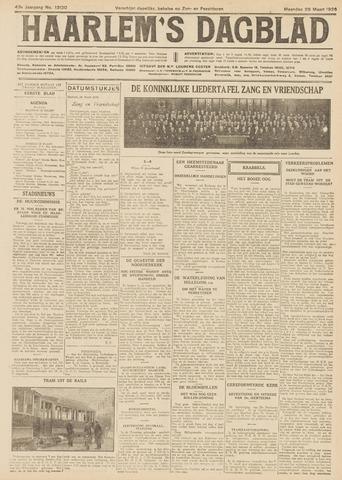 Haarlem's Dagblad 1926-03-29