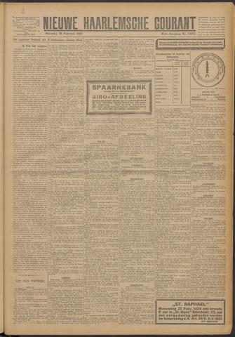 Nieuwe Haarlemsche Courant 1924-02-25