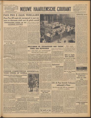 Nieuwe Haarlemsche Courant 1951-06-04