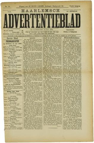 Haarlemsch Advertentieblad 1888-07-14
