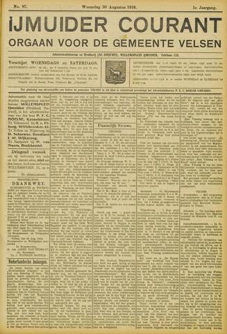IJmuider Courant 1916-08-30