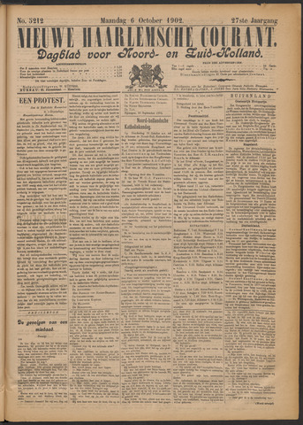 Nieuwe Haarlemsche Courant 1902-10-06