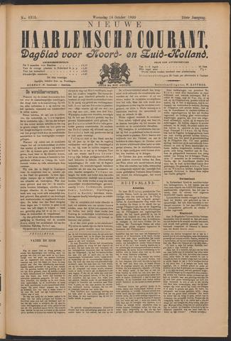 Nieuwe Haarlemsche Courant 1899-10-18